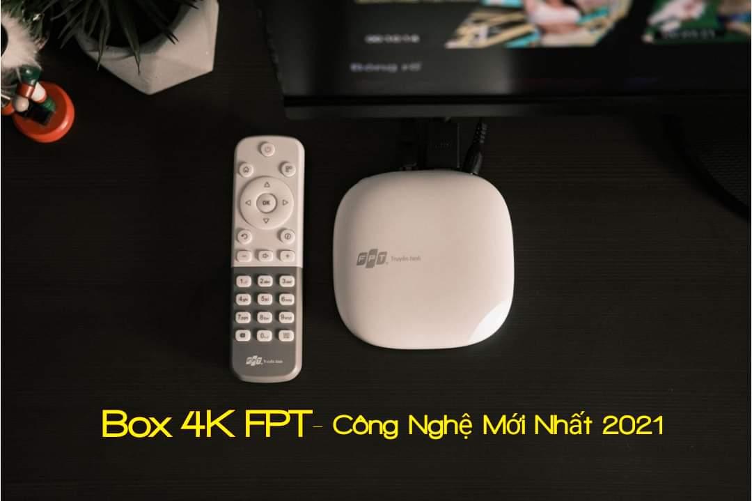 Tivi Box FPT 4K ( Dùng cho tất cả các loại TV đời cũ)